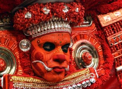 Puliyooru_Kaali_-_Thamburatti_Theyyam